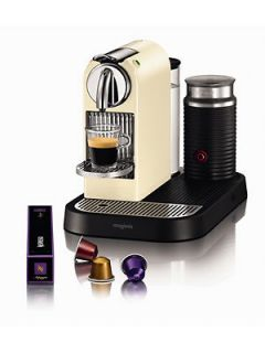 11301 Nespresso M190 CitiZ and Milk Coffee Machine In Cream Brand New