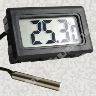 Large LCD Fish Aquarium Water Tank Vivarium Thermometer