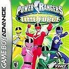 Power Rangers Time Force Nintendo Game Boy Advance GBA DS LITE