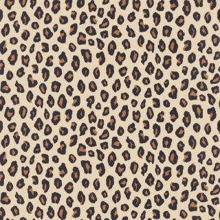 Cream Black Brown 202915 Leopard Print Rasch Wallpaper