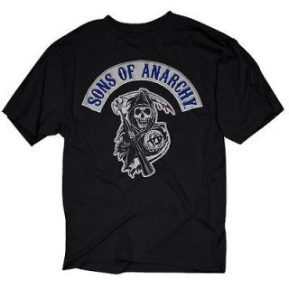 Sons of Anarchy Samcro SOA Logo Patch T shirt Tee Shirt