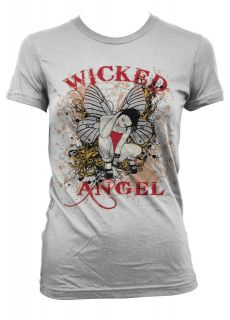 Wicked Angel Fairy Wings Fantasy Magical Supernatural Sexy Fun Juniors