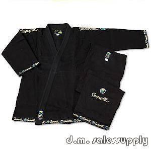 ProForce® Gladiator ULTRA Jiu Jitsu Uniform Gi   Black