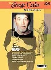 George Carlin Collection DVD, 2001, Parental Advisory