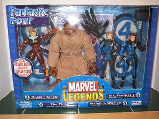 Fantastic Four Set Human Torch Thing Invisible Woman Mr.Fantastic