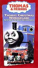 Thomas the Tank Engine   Thomas Christmas Wonderland VHS, 2000