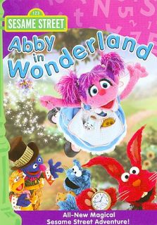 Sesame Street   Abby in Wonderland DVD, 2008