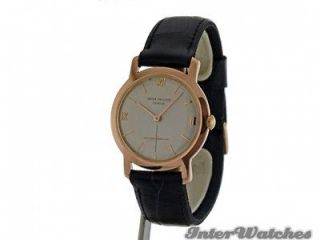 PHILIPPE CALATRAVA Ref 2506 1 Manual 18K Pink Gold Watch Year 1955