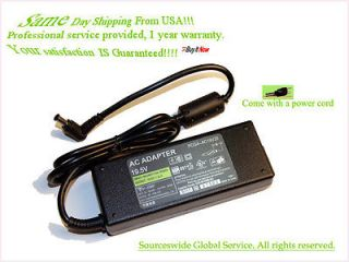 AC Adapter For Sony Vaio SVE Series Notebook Power Supply Cord Battery