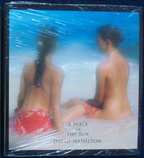 David Hamilton A Place in the Sun Aurum Press 1996 NEW SEALED HCDJ