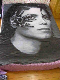 michael jackson MJ Classic Dangerous Bed Sheet Set 59.05in X 78.74in