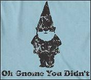 You Didnt T shirt funny gnome shirt classic garden tee gnome didnt