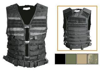 NEW NcStar Digital CAMO ACU Molle WEB PALS Modular Tactical Protective