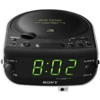 Sony ICF CD815 Dream Machine Dual Alarm Clock CD Player with AM / FM