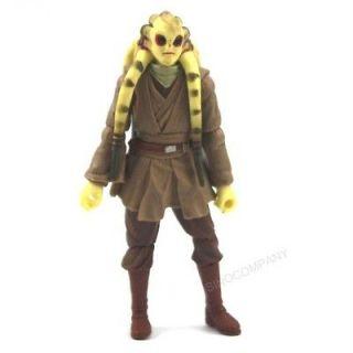 Star Wars Clone Wars Jedi Master KIT FISTO 2004 Action Figure SU02
