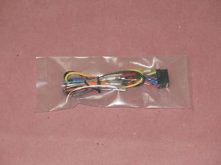 Alpine CDA 9813R, CDA9813R, CDA 9813 Power Harness Plug 16 Pin Loom