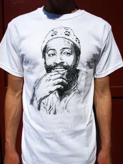 MARVIN GAYE T SHIRT mens clothing music lyrics hip hop songs death on