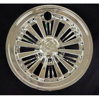 Chrome Wheel Covers Golf Cart Yamaha, Club Car