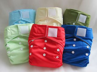 24 KaWaii Baby Heavy Duty HD2 OS Cloth Diapers+48 Large Inserts