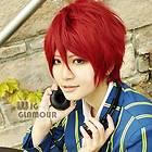 UTA NO PRINCE SAMA Ittoki Otoya Red 35cm Short Cosplay Wigs E06