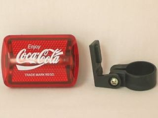 NEW Coca Cola Bicycle Bike Tail Light Ads Light HOT