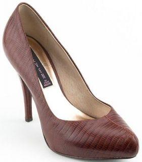 STEVE MADDEN Women Shoes Dair Pump 10 Cognac NIB