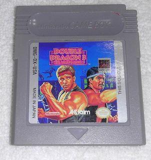 Double Dragon III The Arcade Game (Nintendo Game Boy, 1993)