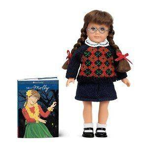 Molly Mini Doll (American Girls Collection Mini Dolls)
