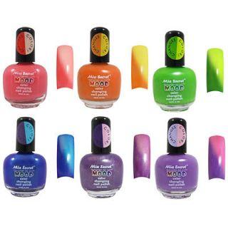 Mia Secret Mood Color Change Nail Polish 6 Colors available Pick 1