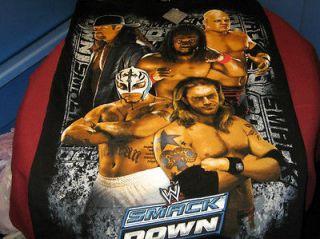 WWE 2007 KANE Rey Mysterio EDGE Kofi Kingston THE UNDERTAKER T Shirt