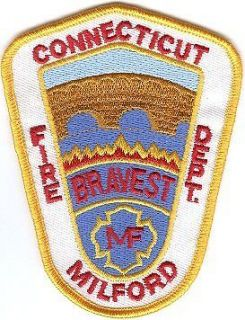 Newly listed CONNECTICUT   MILFORD FIRE DEPARTMENT Patch