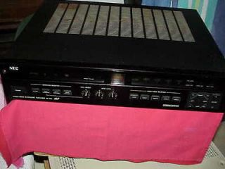 NEC Model AV 250E AUDIO/VIDEO AMPLIFIER (GOOD WORKING CONDITION)W/MA