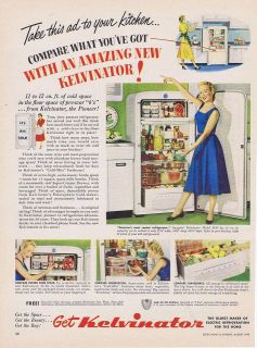 vintage refrigerator in Major Appliances