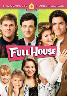 Full House The Complete 4th Fourth Season (DVD, 2006, 4 Disc Set)
