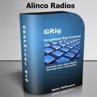 GRig II HAM RADIO COMPUTER HF VHF RIG CONTROL SOFTWARE FOR ALINCO