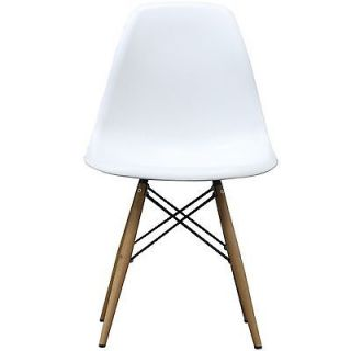 NEW White Oak Wood Modern Retro Eiffel Dinning Living Room Chair