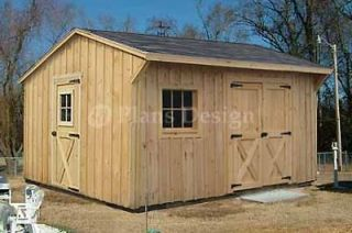 garbage shed plans