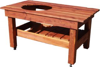 big green egg table in Outdoor Cooking & Eating