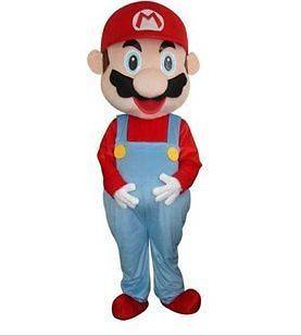super mario mascot costume in Clothing,