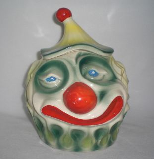mccoy clown cookie jar in Pottery & Glass