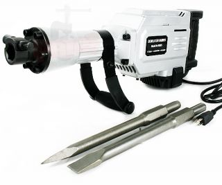 1700 watt Electric Demolition Jack Hammer Punch Chisel Tools Concrete