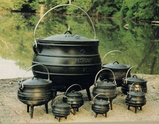 Cauldron Cast Iron Kettle Large Cast Iron 15 Gallon Size 20 Wiccan