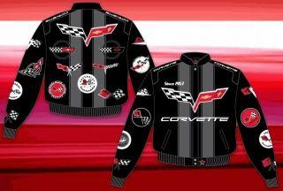 corvette racing jacket in Clothing,