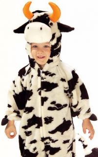Kids Plush Moo Cow Cute Farm Animal Halloween Costume