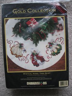 Dimensions Gold counted cross stitch kit #8474   Mystical Angel Tree