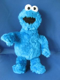 Price Sesame Street BLUE Cookie Monster Plush STUFFED ANIMAL LOVEY Toy