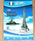 DIY Puzzle Eiffel Tower building Model Kids hobby jigsaw toy birthday