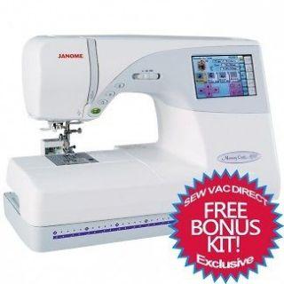 Janome Memory Craft 9700 Sewing and Embroidery Machine FREE Bonus