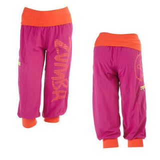 Zumba Up Down Cargo Capri Pants All Sizes