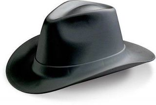 COWBOY HARDHAT BLACK HARD HAT   OCCUNOMIX